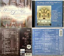 2 (3) Orgel CD's: Altenbruch & Lüdingworth und Trebel