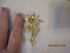 Dodds vintage flower pin