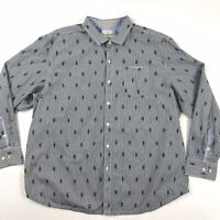 Tommy Bahama Mens Island Fit Shirt Collared Button Front XXL 2XL Hula Girls