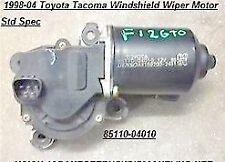 1998-04 Toyota Tacoma Windshield Wiper Motor 8511004010 ,