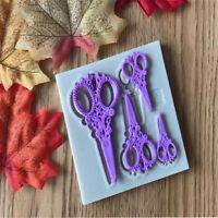 Ciseaux silicone fondant moule gâteau de décoration outils chocolat Gumpaste