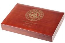Lunar Serie I Münzbox /  Box / Münzkassette für 12x 10 Oz Silber -Holz B-Ware