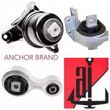 3 PCS MOTOR MOUNTS & ENGINE TRANS For 2006-2009 Ford Fusion 3.0L V6 A /T M/T FWD
