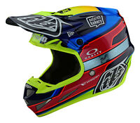 Troy Lee Designs 2021 SE4 Carbon Speed Team Helmet w/MIPS - Blue