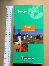 Michelin Green Guide: Spain.Paperback.In English.Travel & Holiday Guides.Maps.