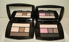 2 LANCOME Color Design Eye Brightening All In One - Flushed Satin  & French Nude