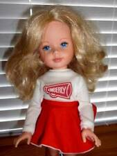 Tomy ~ Vintage 1983 Pretty Cheerleader Kimberly Doll 17""