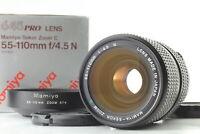 [Near MINT in BOX] Mamiya Sekor C Zoom 55-110mm f/4.5 N Lens w/ Hood From JAPAN
