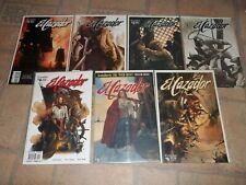 El Cazador (Crossgen, 2003-04) #1, #1A, #2, #3, #4, #5, #6, Blackjack Tom #1 NM