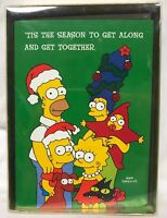 Vintage 90s Simpsons Christmas cards BART Simpson 18 Cards NEW Rare