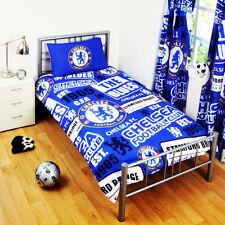 Chelsea FC Edredón Funda de almohada Individual Juego Cama Personaje CHICO