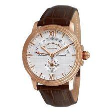 Stuhrling Original 340 3345K2 Men's Saturnalia Chairman Automatic Brown Watch