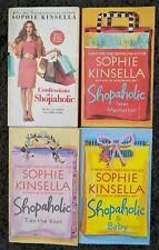 SHOPAHOLIC SERIES SOPHIE KINSELLA ROMANCE PAPERBACK 4 BOOK LOT FREE SHIPPING