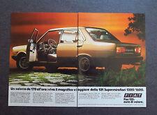 [GCG] H362 - Advertising Pubblicità -1982-  FIAT 131 SUPERMIRAFIORI 1300 TC