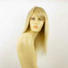 Perruque femme mi-longue blond doré méché blond très clair RAPHAELLA 24BT613