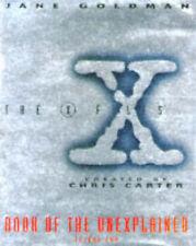 X-files  Book of the Unexplained: v.2 by Jane Goldman (Hardback, 1996)