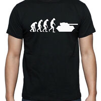 EVOLUTION OF TANK TSHIRT T SHIRT XL XXL XXXL MILITARY TOY RC MINI ARMY EX  NEW