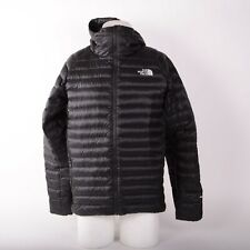 2019 MENS THE NORTH FACE 800 DOWN HOODED JACKET $200 M Black USED ONCE