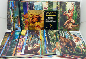 Joe Jusko: Edgar Rice Burroughs Collection - Serie 1 - complete commons #1-60