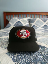 San Francisco 49ers Black On Field Fitted Hat 7 1/4