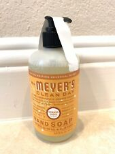 Mrs Meyers Hand Soap Liquid In Limited Edition Scent ORANGE CLOVE - 12.5 Oz