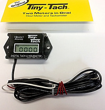 TT2B HOUR METER BY TINY TACH RESETTABLE JOB TIMER, MADE IN THE USA, 19389 BRIGGS