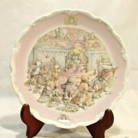 """Vtg Royal Doulton Plate Wind in the Willows Return of Ulysses 1987 8.5"""" EUC"""
