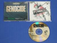GENOCIDE NEC PC-Engine SUPER CD-ROM Import Japan