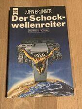 DER SCHOCKWELLENREITER von JOHN BRUNNER, Heyne SF 3667, Science Fiction Roman