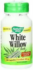 Nature's Way White Willow Bark 100 Capsules