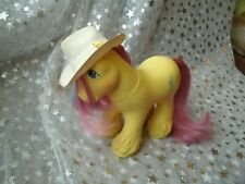 Vintage My Little Pony *Tex* mountain boy big brother daddy clydesdale horse