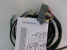 IMPIANTO ELETTRICO ELECTRICAL WIRING VESPA  PK 50/125 XL RUSH +SCHEMA ELETTRICO
