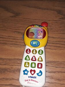 Vintage vtech Dial & Discover Phone 633  Tested/Works