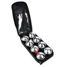 Oypla 8pc French Boules PETANQUE Balls Garden Game Set With Carry Case
