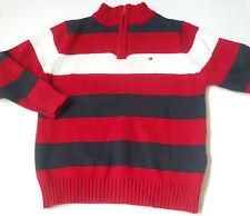 Tommy Hilfiger Jungen-Pullover aus 100% Baumwolle