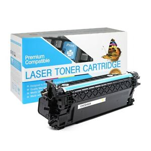CE402A / 507A Compatible SO Toner Cartridge for HP M551DN (Yellow,1 Pack)
