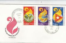 Carribbean Island 1979 20th anniversary of the Revolution FDC Unadressed VGC