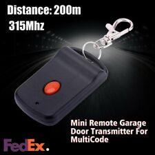 Mini 200m Garage Door Wireless Gate Opener