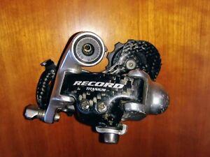Campagnolo Record Carbon 10 speed titanium rear derailleur short cage
