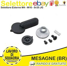 SELETTORE SOFTAIR ESTERNO IN METALLO PER M4 AIRSOFT SOFTAIR J.G. WORKS METALLO