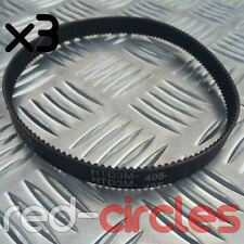 HTD 405-3M-12 ELECTRIC E-SCOOTER MOTOR DRIVE BELT (3 PACK)