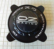 OZ Racing Center Cap M674 Oz Formula Cover black w black ring PCM674-227