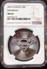 2016 CANADA ~ SUPERMAN ~ NGC MS69 ~ FREE SHIPPING