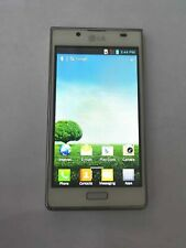 Desbloqueado LG Optimus L7 LG-P700 P700 Android Teléfono Celular Móvil 4GB Blanco Sim Libre
