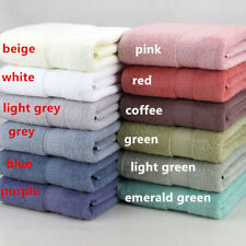27x 55'' Thick Absorbent Soft Cotton Bath Towel For Bathroom Beach Fast Drying