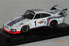 Porsche 935 Martini Racing Icks/Mass 1976 1:43  Minichamps neu & OVP 400766311