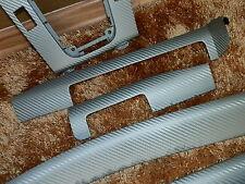 Dekorleisten Interieurleisten BMW E46 M- Paket  3D Struktur Folien Set SILBER