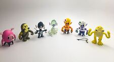 LOT of 7 Pete Fowler World of Monsterism 2.0 Vinyl Toy Minifigures