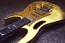 Gold leaf 24K Guitar *Custom made project*