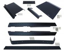 EZGO TXT Golf Cart (Black) Diamond Plate Full Accessory Kit 1995 - 2014